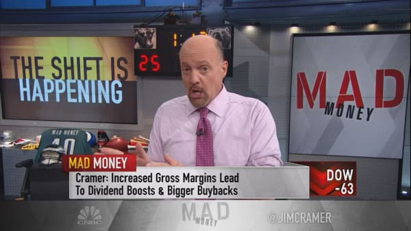 Cramer says Amazon just marked a seismic shift in stock picking