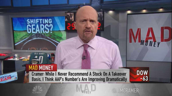 Cramer argues why AAP is ready to catch a juicy takeover bid