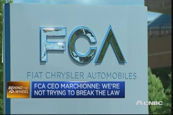 EPA accuses Fiat Chrysler of excess diesel emissions