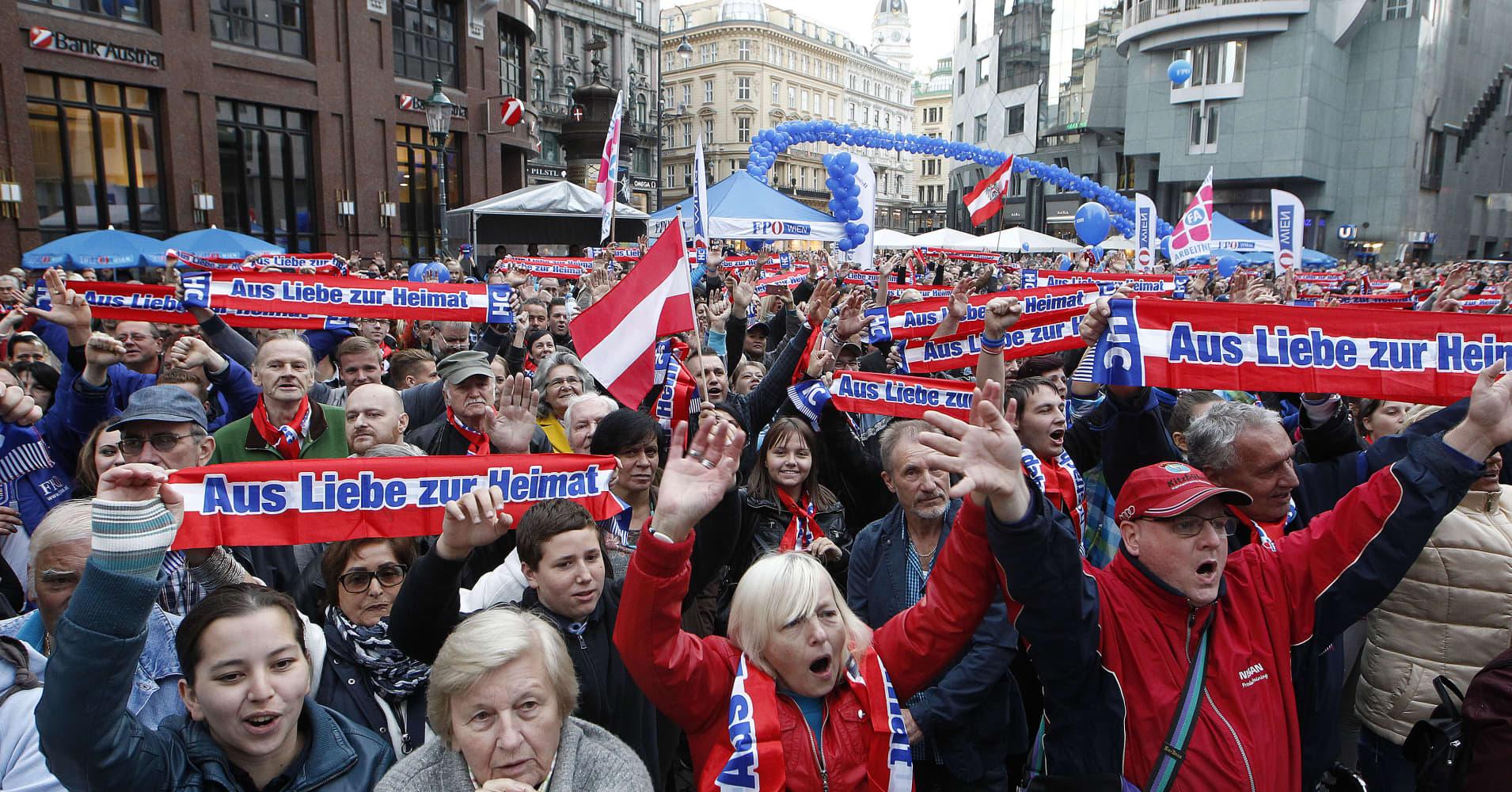 Kurz's Austrian conservatives bring far right into government