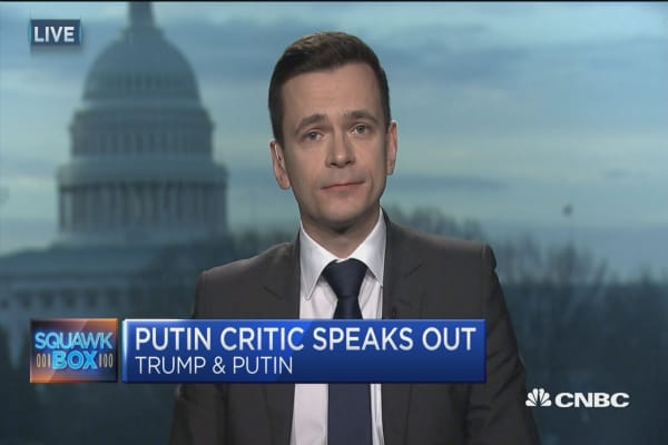 Russian opposition leader warns of Putin's unchecked power