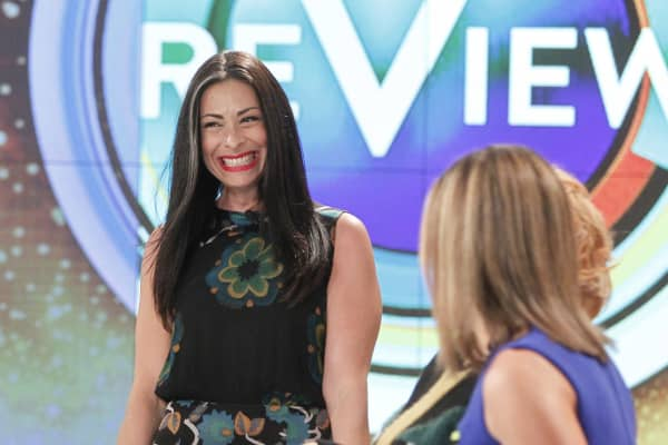 Stacy London appears on 'The View'