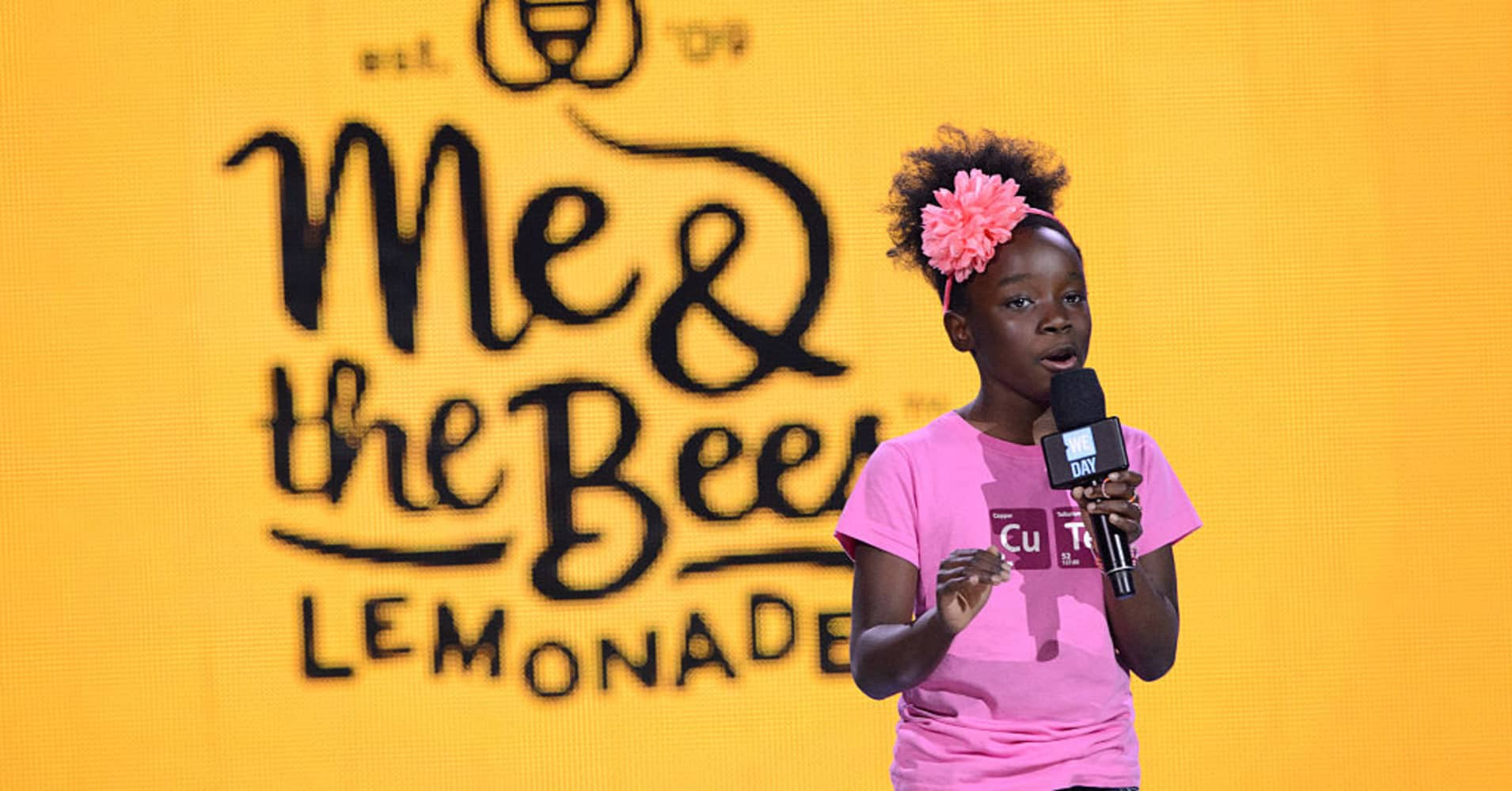 Mikaila Ulmer, founder and CEO of Me & the Bees Lemonade.