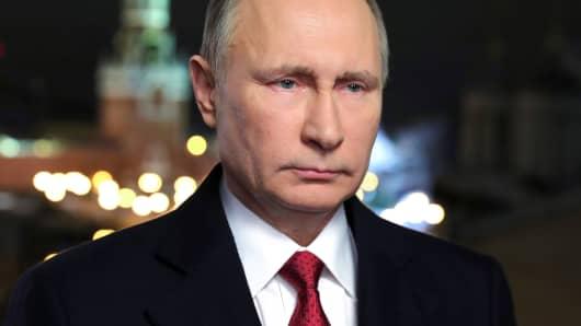 Russia's President Vladimir Putin in Moscow.