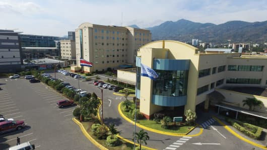 CIMA hospital, San Jose, Costa Rica.