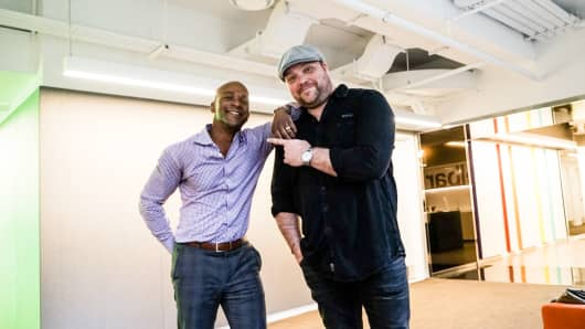 CNBC's Jon Fortt and Drew Powell.