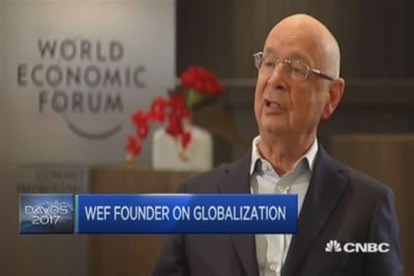 Don't condemn globalization, make it better: Klaus Schwab