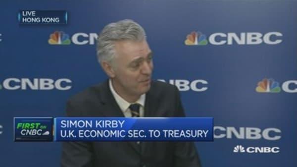 London will remain financial hub: UK Treasury