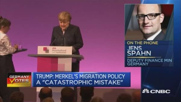 Trump's remarks on German migration policy is nothing new: Dep. Fin Min