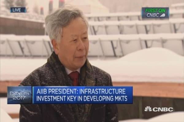 We are working with America: AIIB President