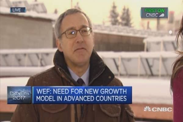 WEF: Need for new growth model in advanced countries