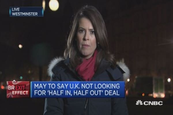 Will UK PM deliver a 'Hard Brexit'?