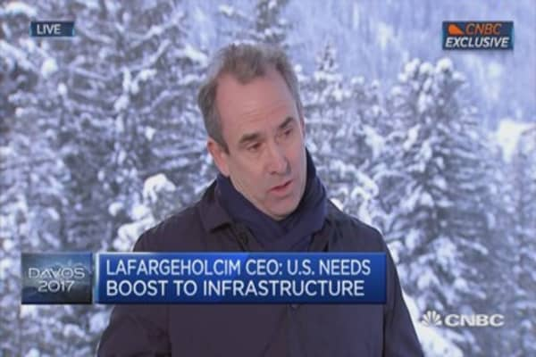 Anti-globalization won't majorly impact our business: LafargeHolcim CEO