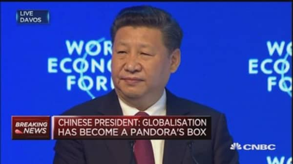 Economic globalization not to blame for world's problems: Chinese president