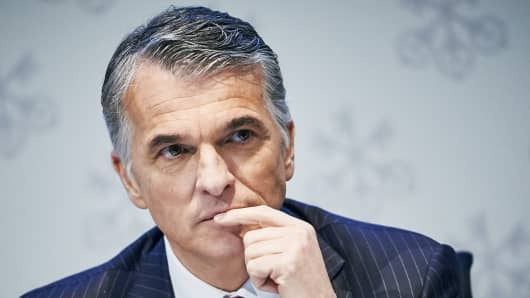 UBS Chief Executive Sergio Ermotti.