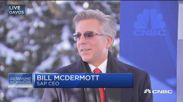SAP CEO: Tech will be in forefront of Trump agenda