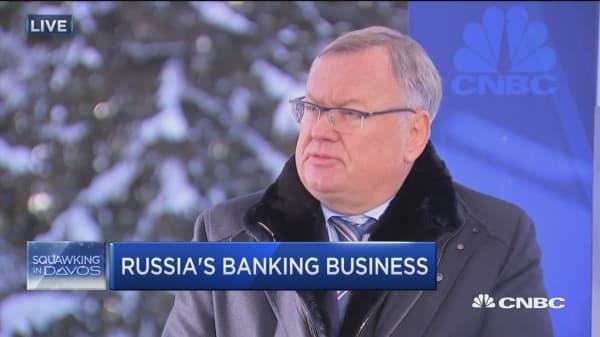 VTB Bank CEO: Reestablishing US-Russia relations