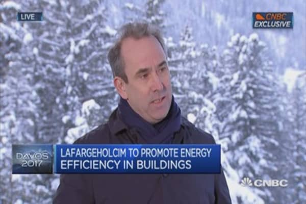 US needs significant infrastructure boost: LafargeHolcim CEO