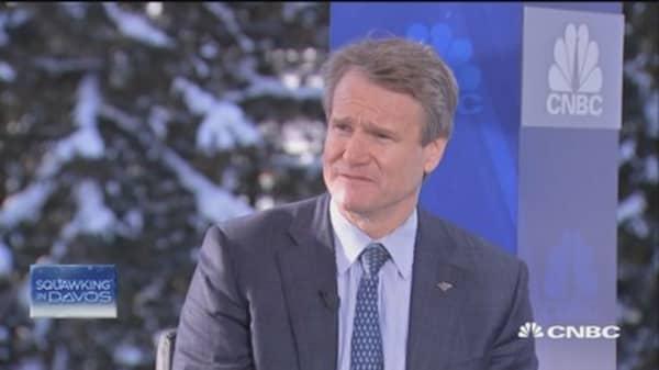 BAC CEO: Dodd-Frank in focus