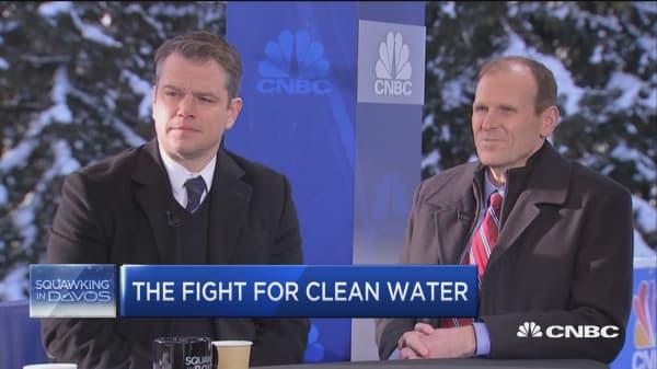 Matt Damon's clean water crusade HIT 1