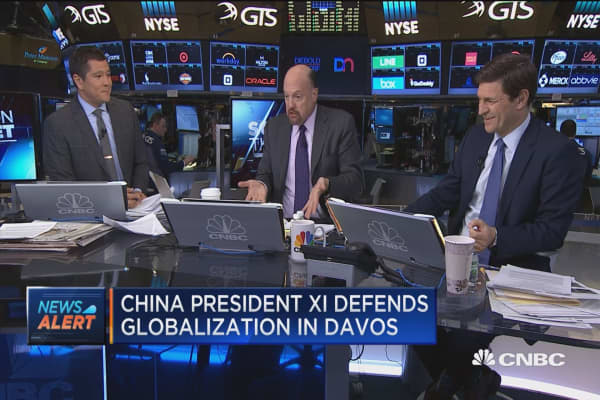 Cramer: Trump not used to US rolling over and playing dead with China