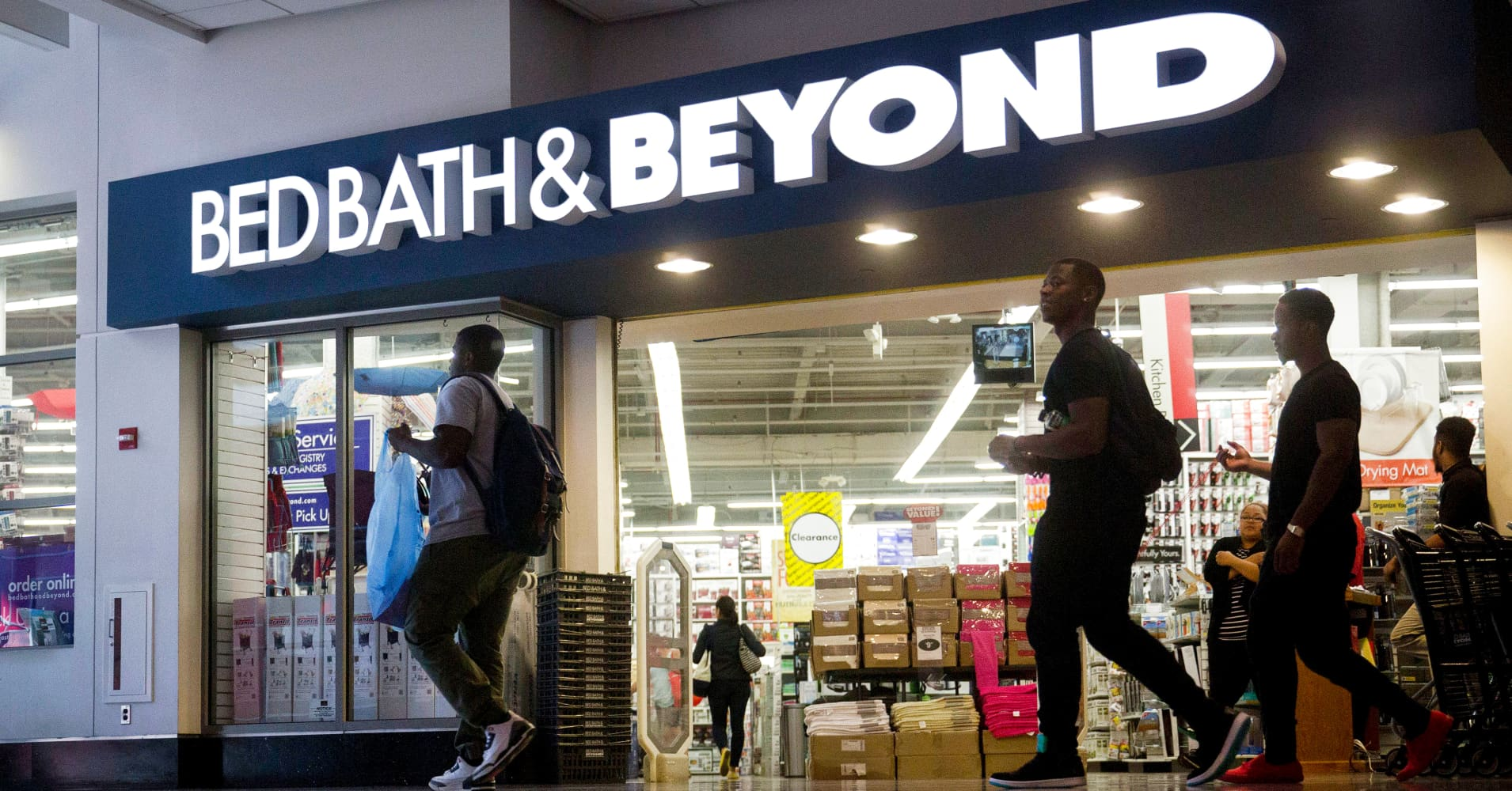 Bed Bath & Beyond refreshes board as co-founders step down