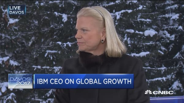 IBM's Rometty on Watson, AI