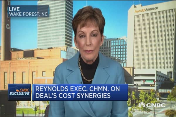 Reynolds executive chairman: BAT deal a 'win-win' for both sets of shareholders