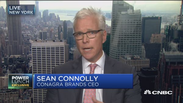 ConAgra CEO: Name of the game is driving growth & innovation