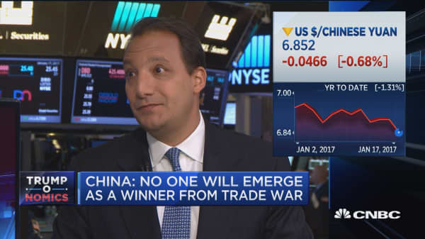 The currency war is over, China won: Trennert