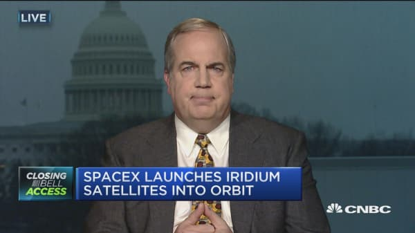 Iridium CEO: SpaceX right team to be working with