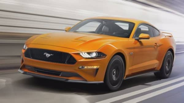 Ford unveils 2018 Mustang