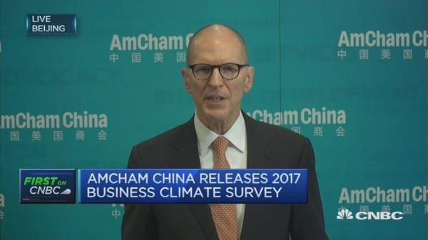 No more business as usual: AmCham China
