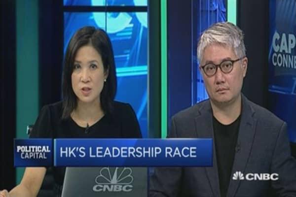 The next Chief Executive of Hong Kong?
