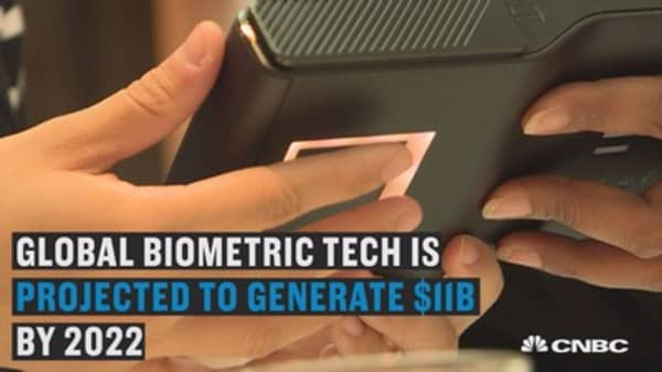 Forget mobile payment, this startup says use your fingerprint