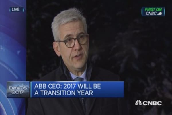 Transformation is in full swing: ABB CEO
