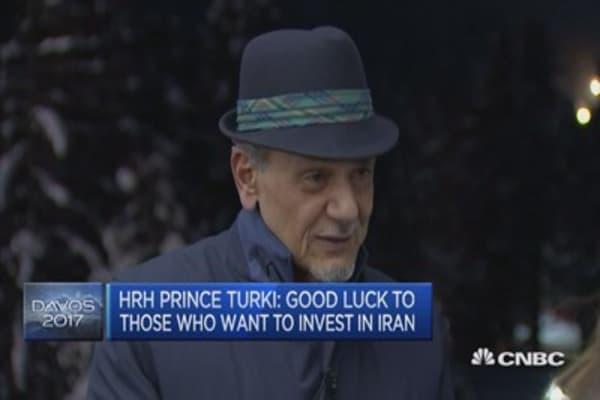The Kingdom is prosperous: HRH Prince Turki