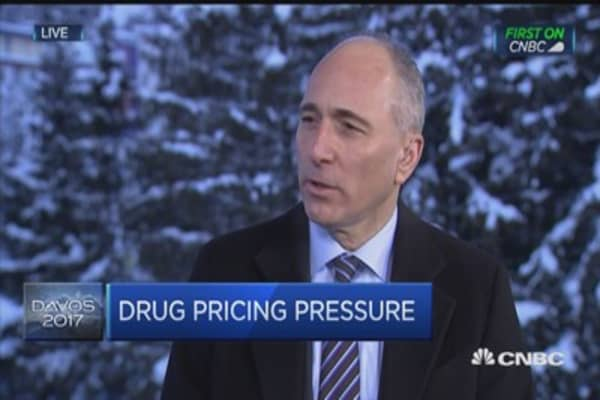 Pharmaceuticals only a small fraction of healthcare costs: Novartis CEO