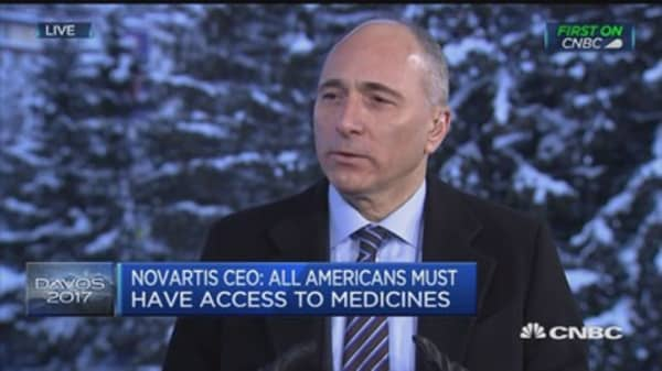 We will continue to invest: Novartis CEO