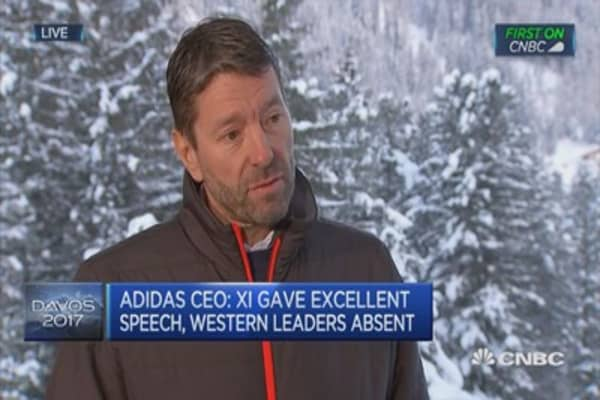 Important that Europe gets its act together: Adidas CEO