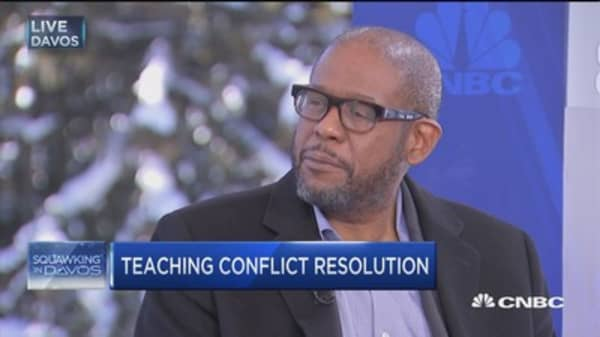 Forest Whitaker: Promoting global peace