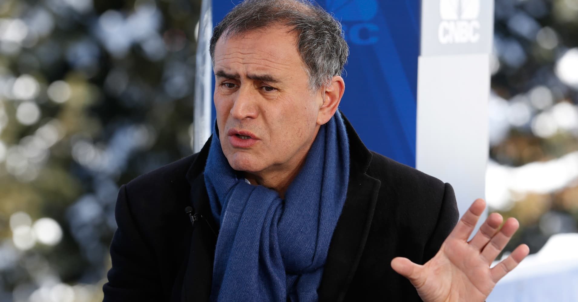 Blockchain is 'one of the most overhyped technologies ever,' Nouriel Roubini says