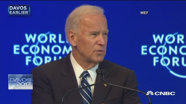 Biden defends liberal world order, warns of rationalism
