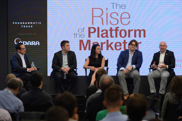 'The Rise of the Platform Marketer' panel presented by Merkle during Advertising Week 2015
