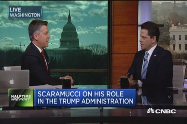 Scaramucci: CEOs seem very happy with transition