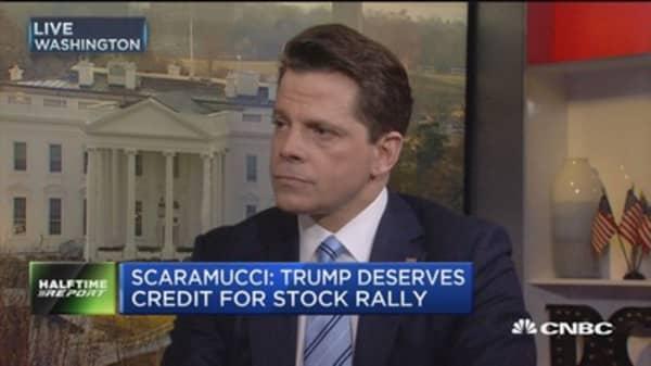 Scaramucci: US can pull world economy forward