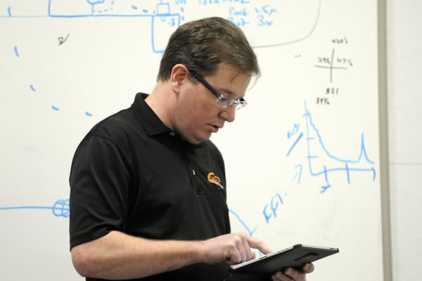 Jeff Barber is the director of engineer services at Furniture Row Racing