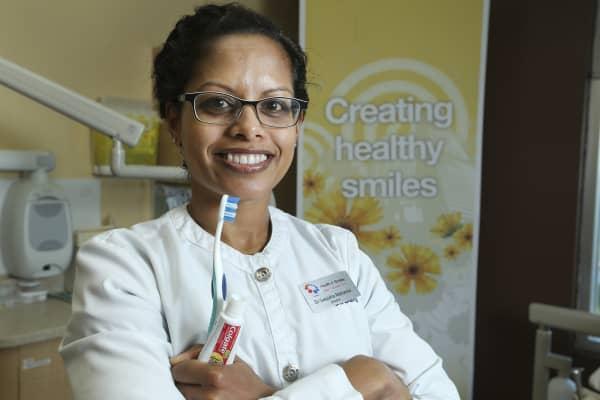 Dr. Sanjukta Mohanta is a dentist at the Health n' Smiles dental clinic