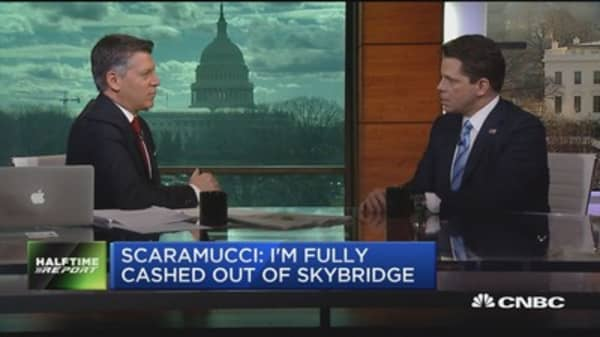 Scaramucci: I'm fully cashed out of SkyBridge