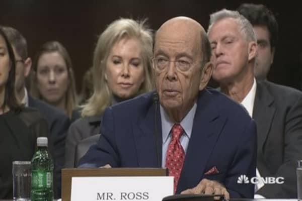 Commerce nominee Wilbur Ross: Trade partners have to play by our rules